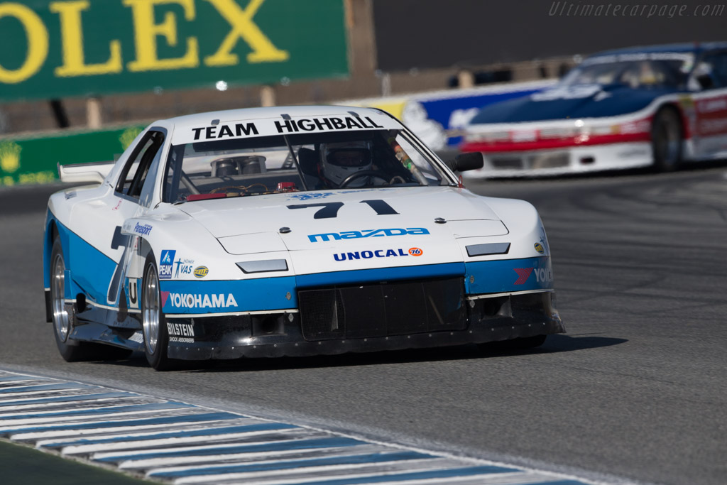 Mazda RX-7 - Chassis: RX-7-1 - Driver: Ralph Thomas  - 2017 Monterey Motorsports Reunion