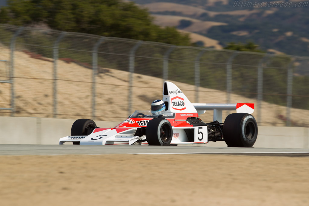 McLaren M23 Cosworth - Chassis: M23-5   - 2017 Monterey Motorsports Reunion