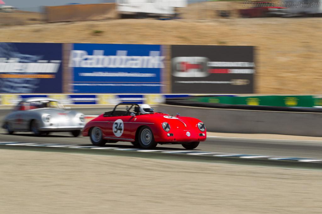 Porsche 356 Super Convertible D - Chassis: 85642 - Driver: Charles Christensen  - 2017 Monterey Motorsports Reunion