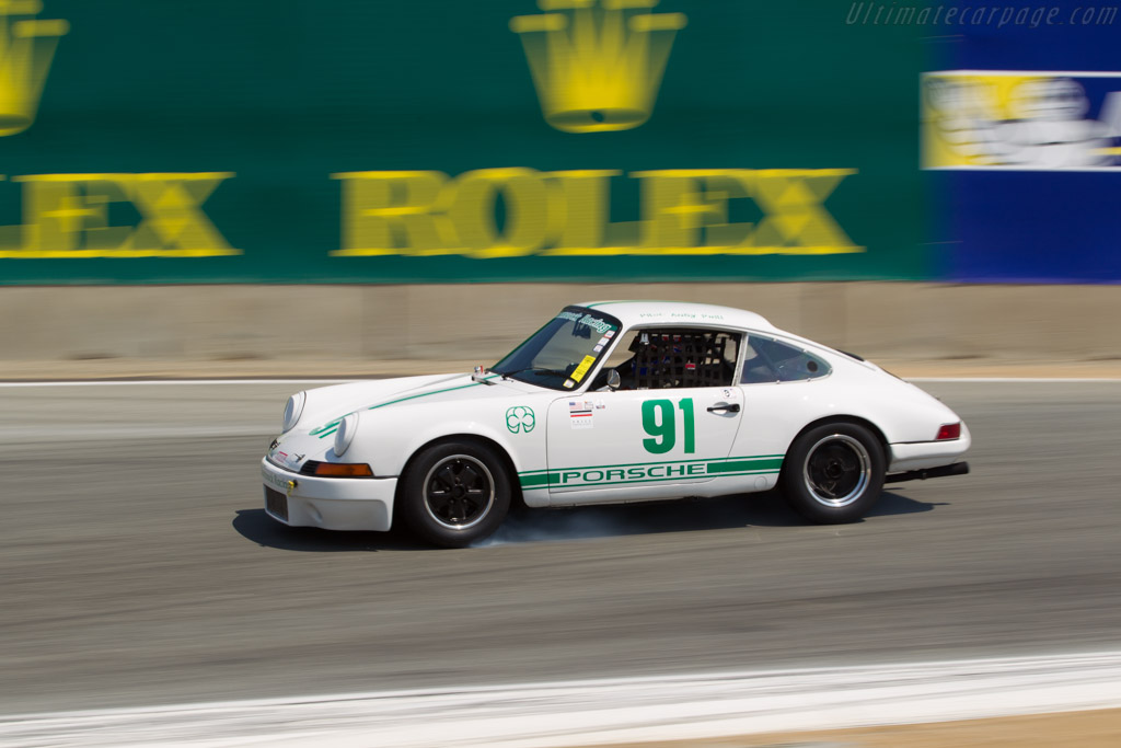 Porsche 911 - Chassis: 119200538 - Driver: Andy Prill  - 2017 Monterey Motorsports Reunion