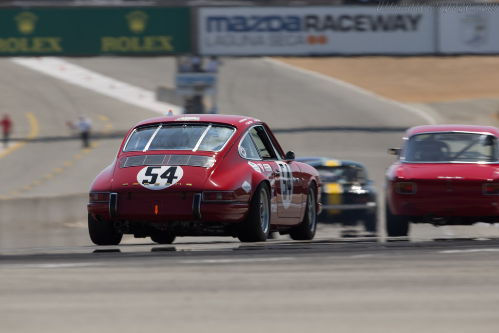 Porsche 911 S - Chassis: 305278S - Entrant: Alan Benjamin - Driver: Johan-Frank Dirickx  - 2017 Monterey Motorsports Reunion