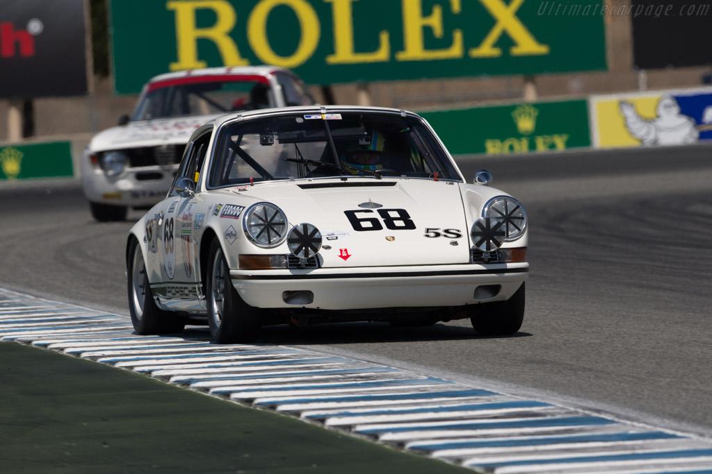 Porsche 911 T/R - Chassis: 118 20 809 - Entrant: Alan Benjamin - Driver: Patrick Long  - 2017 Monterey Motorsports Reunion