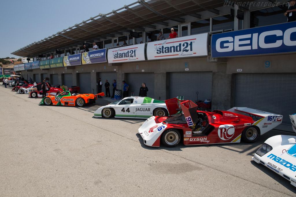 Porsche 962 - Chassis: 962-122 - Driver: Gordon Zimmerman  - 2017 Monterey Motorsports Reunion