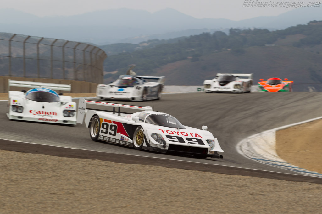 Toyota Eagle GTP Mk III - Chassis: WFO-91-004 - Driver: Charles Nearburg  - 2017 Monterey Motorsports Reunion