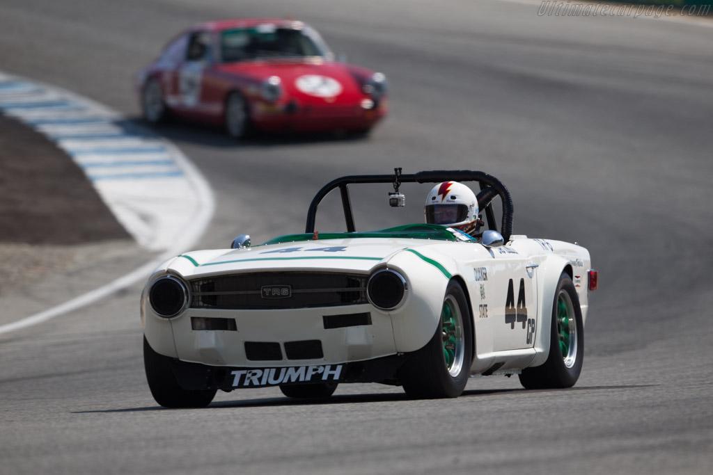 Triumph TR6 - Chassis: 2 - Driver: Bill Warner  - 2017 Monterey Motorsports Reunion