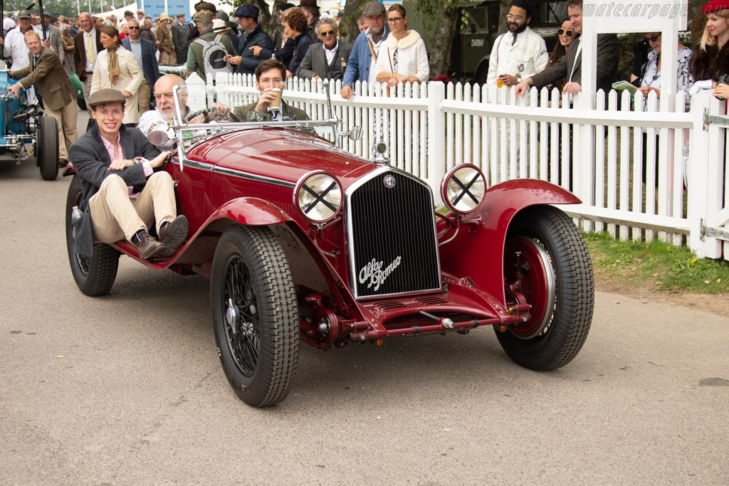 Alfa Romeo 8C 2300    - 2018 Goodwood Revival
