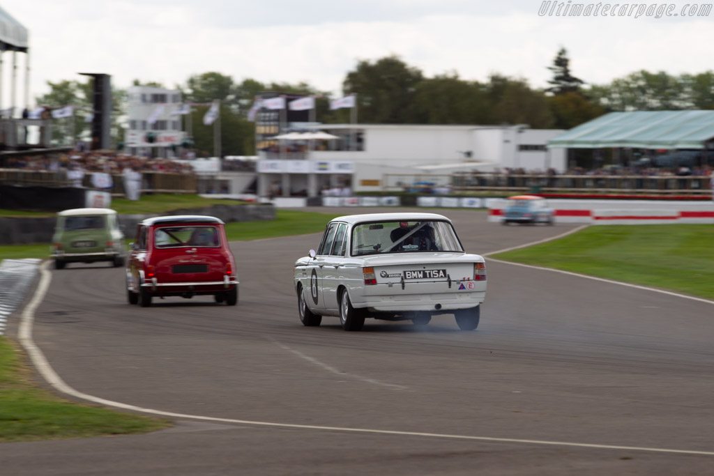 BMW 1800 TISA  - Entrant: William Norman - Driver: Rob Smith  - 2018 Goodwood Revival