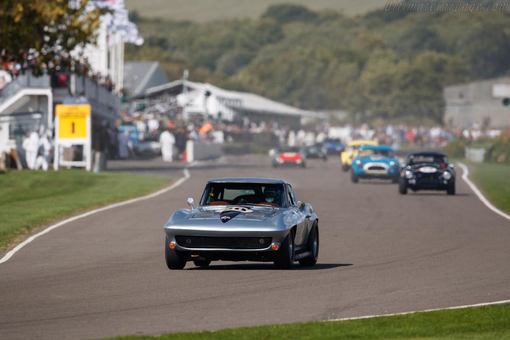 Chevrolet Corvette  - Entrant: Stuart Morley - Driver: Stuart Morley / Derek Bell - 2018 Goodwood Revival
