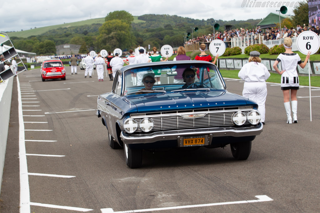Chevrolet Impala  - Driver: Dario Franchitti  - 2018 Goodwood Revival