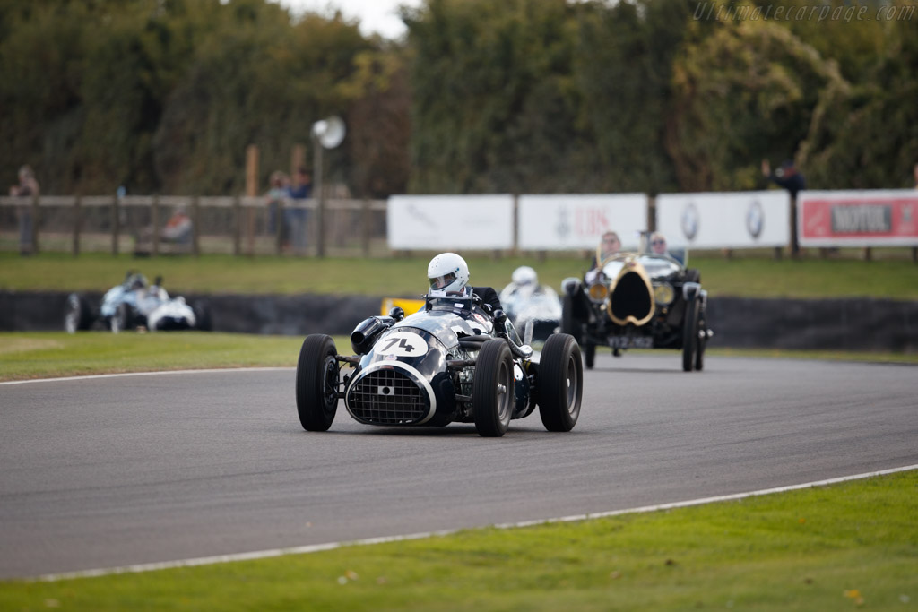 Connaught A Series    - 2018 Goodwood Revival
