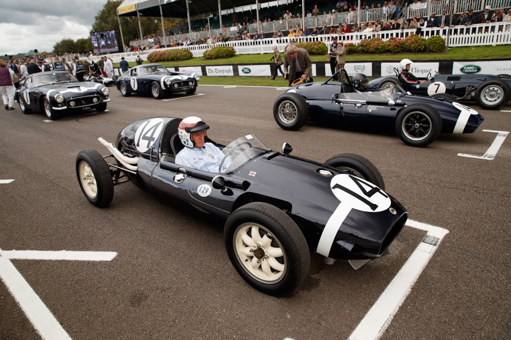 Cooper T43  - Entrant: Collier Museum - Driver: Jackie Stewart  - 2018 Goodwood Revival