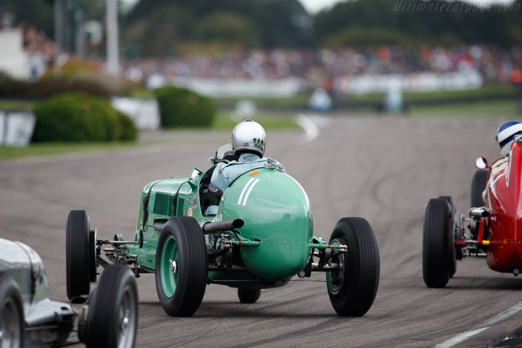 ERA A-Type - Chassis: R3A - Entrant: Richard Skipworth - Driver: Mark Gillies  - 2018 Goodwood Revival