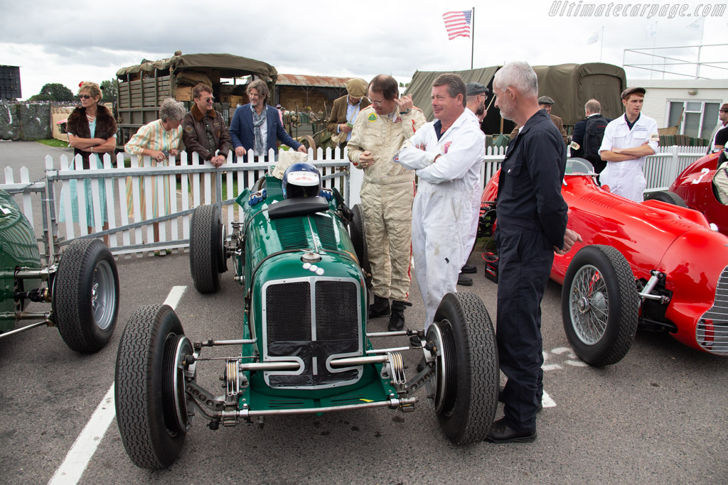 ERA B-Type - Chassis: R14B - Entrant / Driver Chris MacAllister  - 2018 Goodwood Revival