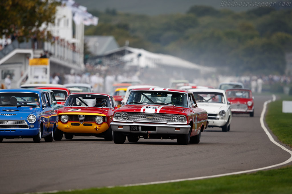 Ford Galaxie 500  - Entrant: Michael Steele - Driver: Ben Mitchell  - 2018 Goodwood Revival
