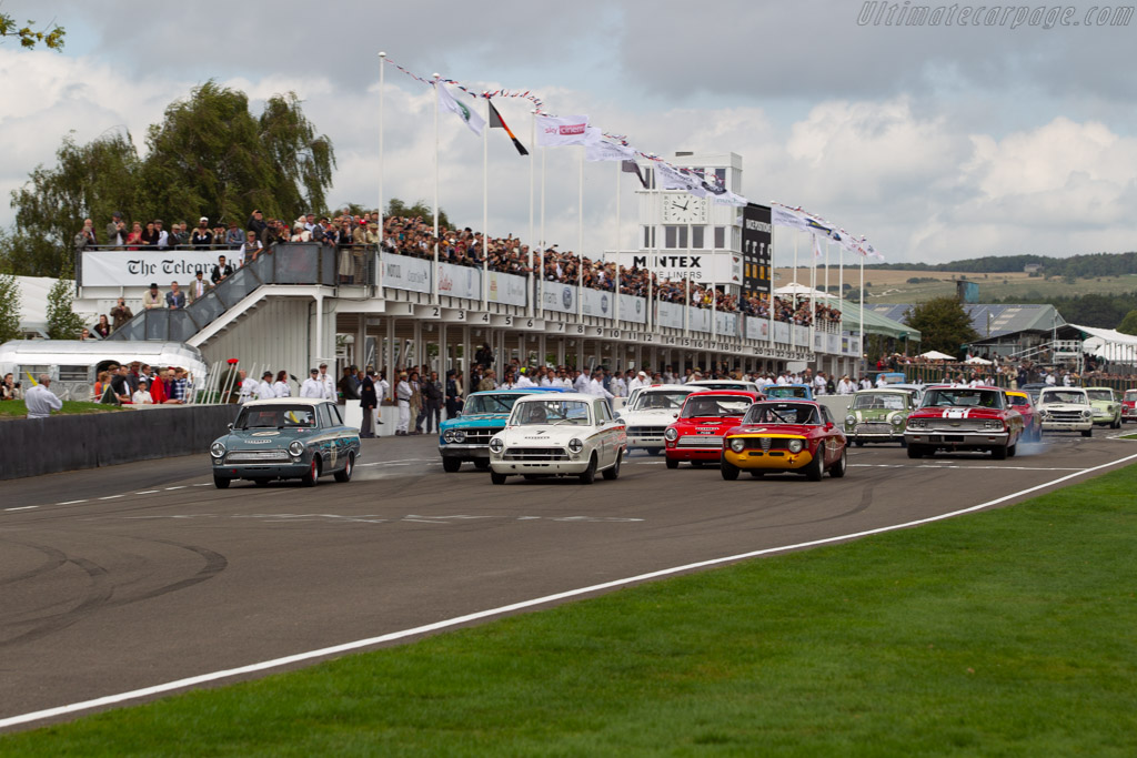 Ford Lotus Cortina Mk1  - Entrant: Howard Donald - Driver: Mike Jordan  - 2018 Goodwood Revival