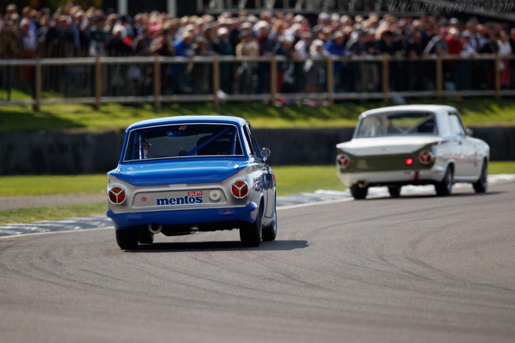 Ford Lotus Cortina Mk1  - Entrant: Ambrogio Perfetti - Driver: Emanuele Pirro  - 2018 Goodwood Revival