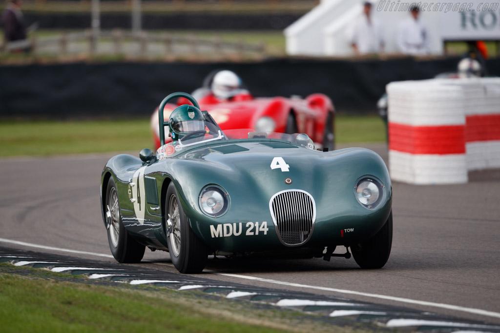 Jaguar C-Type  - Entrant: Trade-Air Ltd - Driver: Nigel Webb  - 2018 Goodwood Revival