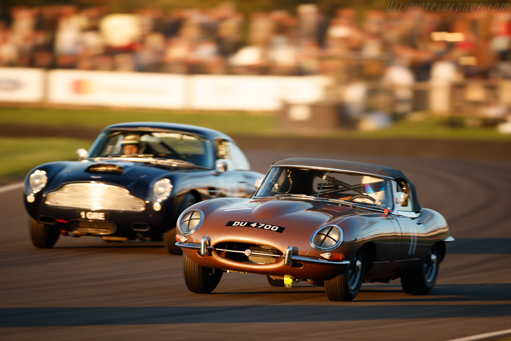 Jaguar E-Type  - Entrant: Ian Dalglish - Driver: Ian Dalglish / James Turner  - 2018 Goodwood Revival