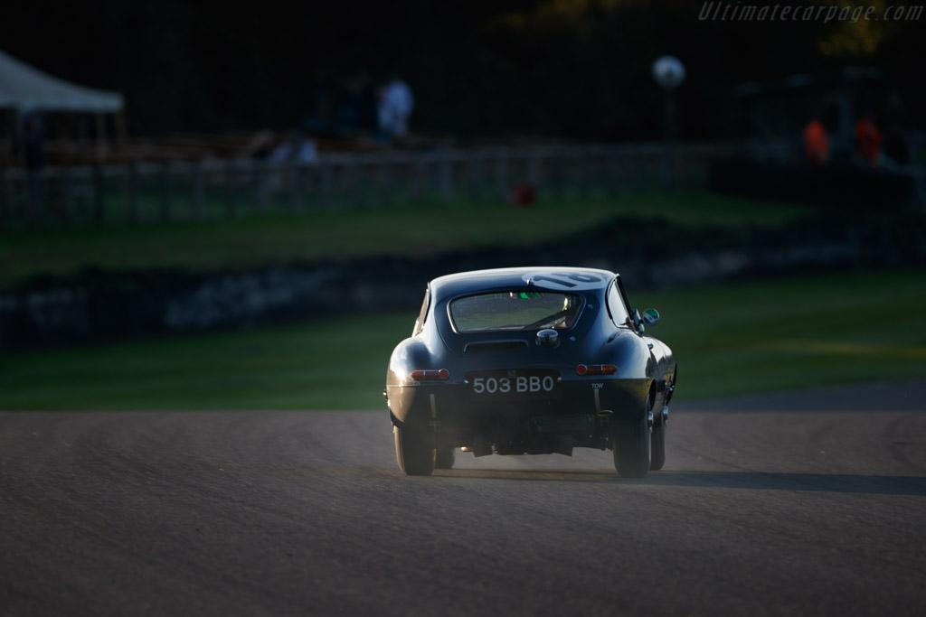 Jaguar E-Type Series 1 Coupe - Chassis: 860458 - Entrant: John Corrie - Driver: Jason Minshaw / Martin Stretton  - 2018 Goodwood Revival