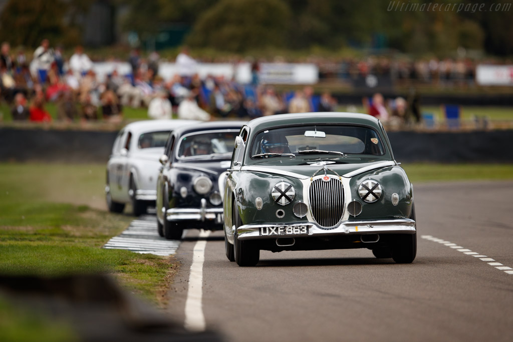 Jaguar Mk1  - Entrant / Driver Justin Law  - 2018 Goodwood Revival
