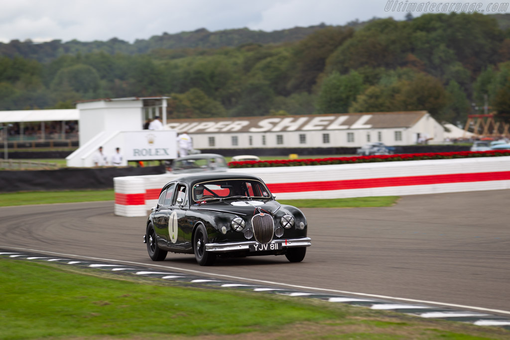Jaguar Mk1  - Entrant: John Coombs - Driver: Charlie March  - 2018 Goodwood Revival
