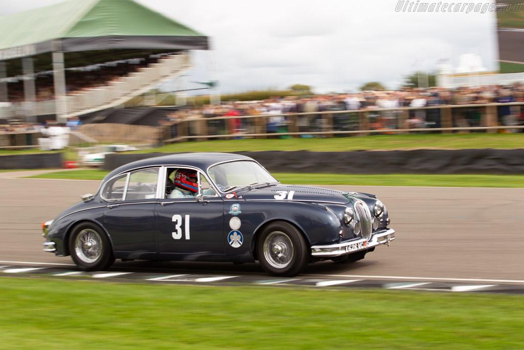 Jaguar Mk2  - Entrant: Trade-Air Ltd - Driver: Tiff Needell  - 2018 Goodwood Revival