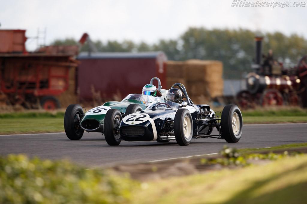 Lotus 18 - Chassis: 912 - Entrant / Driver Adam Lindemann  - 2018 Goodwood Revival