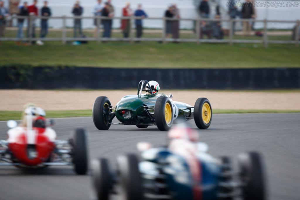 Lotus 21 - Chassis: 937 - Entrant: Federico Buratti - Driver: Enrico Spaggiari  - 2018 Goodwood Revival