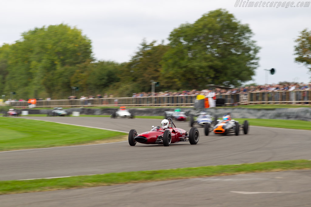 Lotus 22 - Chassis: 22/J/32 - Entrant: Michael Hibberd - Driver: Andrew Hibberd  - 2018 Goodwood Revival