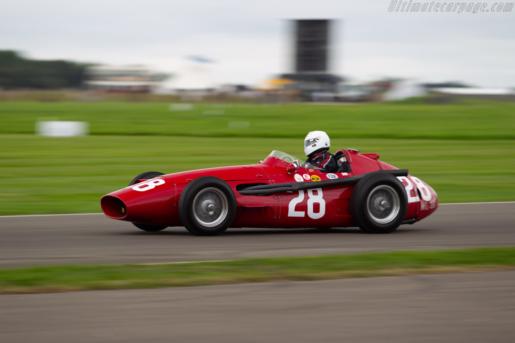Maserati 250 F  - Entrant / Driver Graham Adelman  - 2018 Goodwood Revival