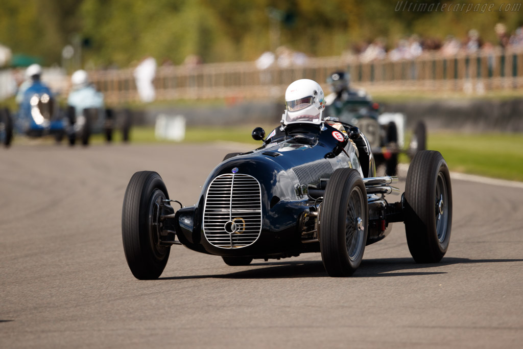Maserati 8CL - Chassis: 3035 - Entrant / Driver Josef Otto Rettenmaier  - 2018 Goodwood Revival