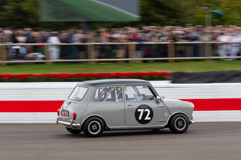 Morris Mini Cooper S  - Entrant: Andy Harrison - Driver: Tony Jardine  - 2018 Goodwood Revival