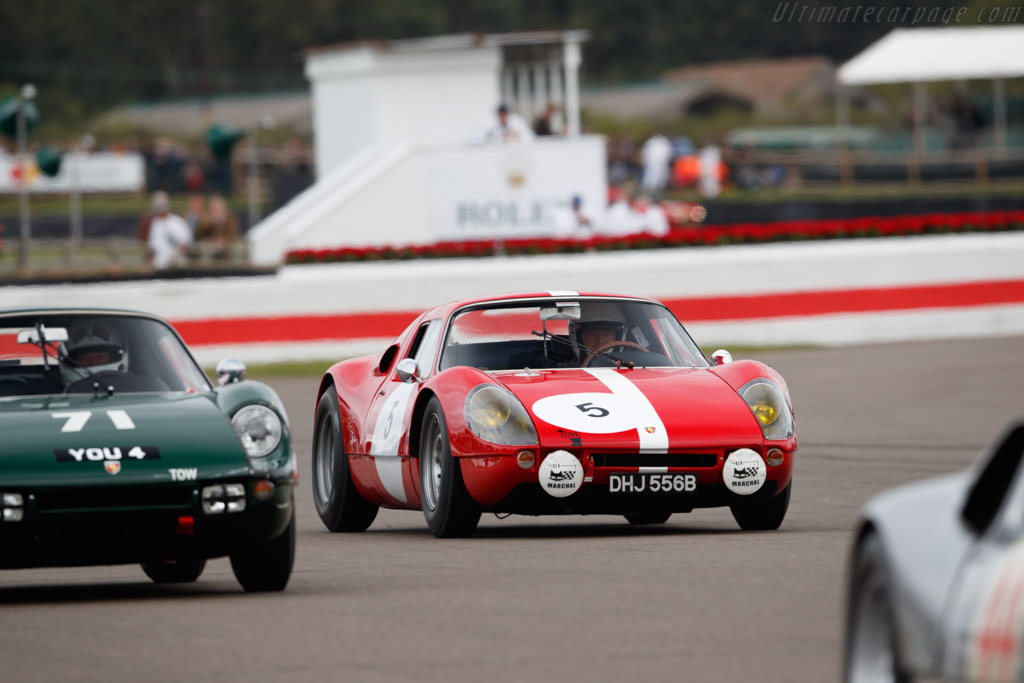 Porsche 904 GTS  - Entrant: Rainer Becker - Driver: Rainer Becker / Richard Attwood  - 2018 Goodwood Revival