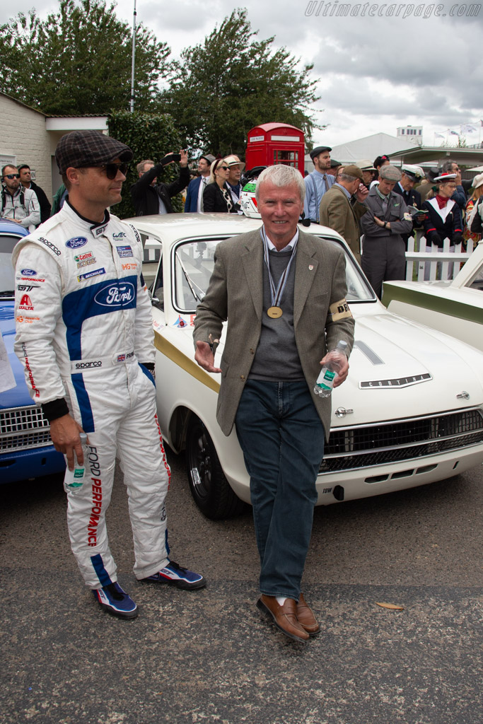 Steve Soper and Andy Priaulx    - 2018 Goodwood Revival