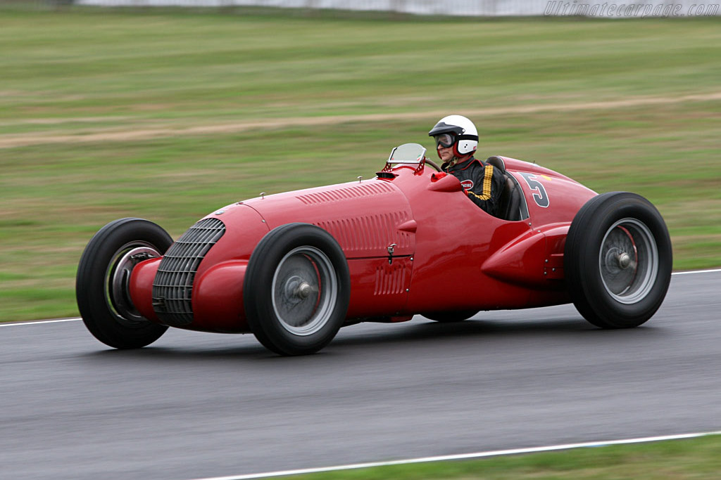 Race Car Trophy >> Alfa Romeo 308C - Chassis: 50016 - 2006 Goodwood Revival