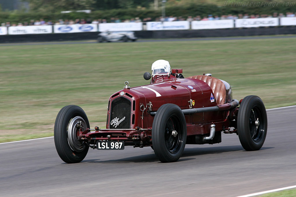 Alfa Romeo 8C 2300 Monza - Chassis: 2111046   - 2006 Goodwood Revival