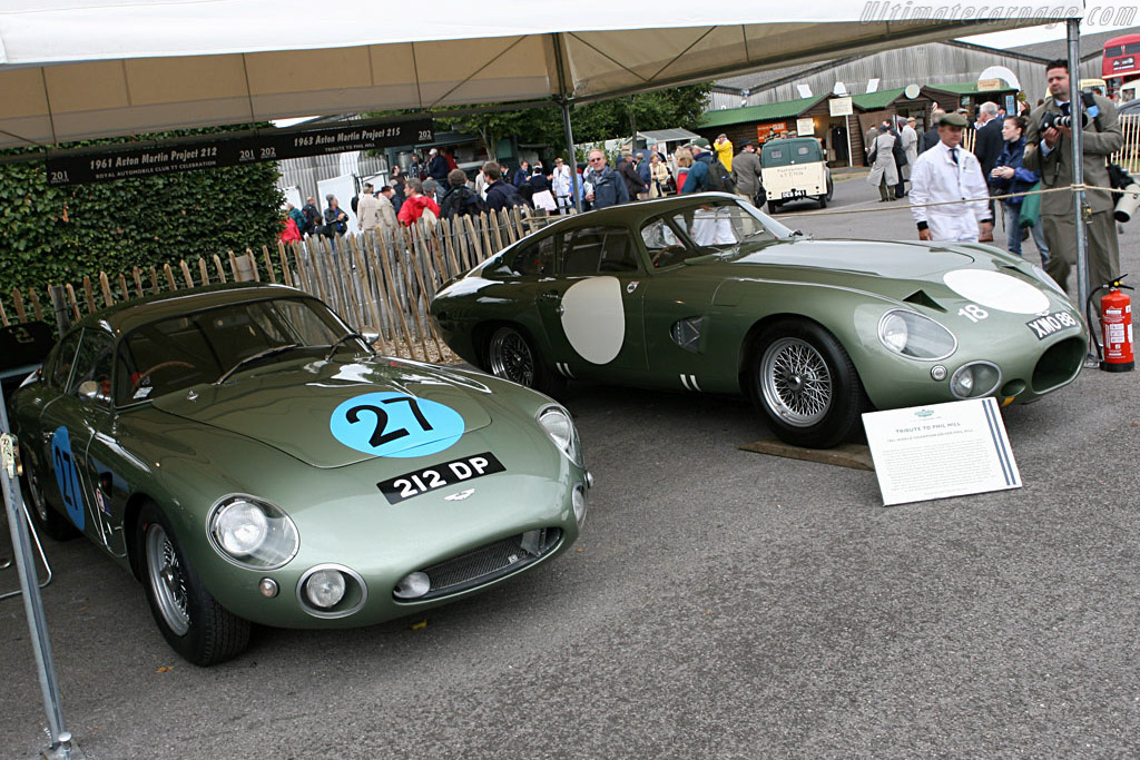 Aston Martin DP212 - Chassis: DP212/1   - 2006 Goodwood Revival