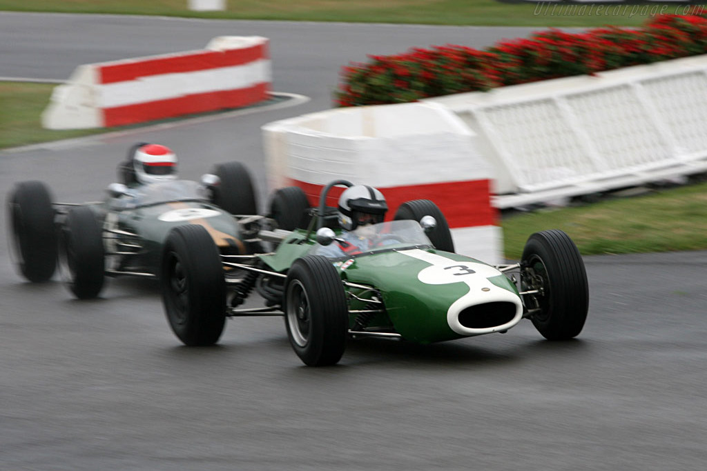 Brabham BT11 Climax (Dayton & Rahal) - Chassis: F1-5-64   - 2006 Goodwood Revival