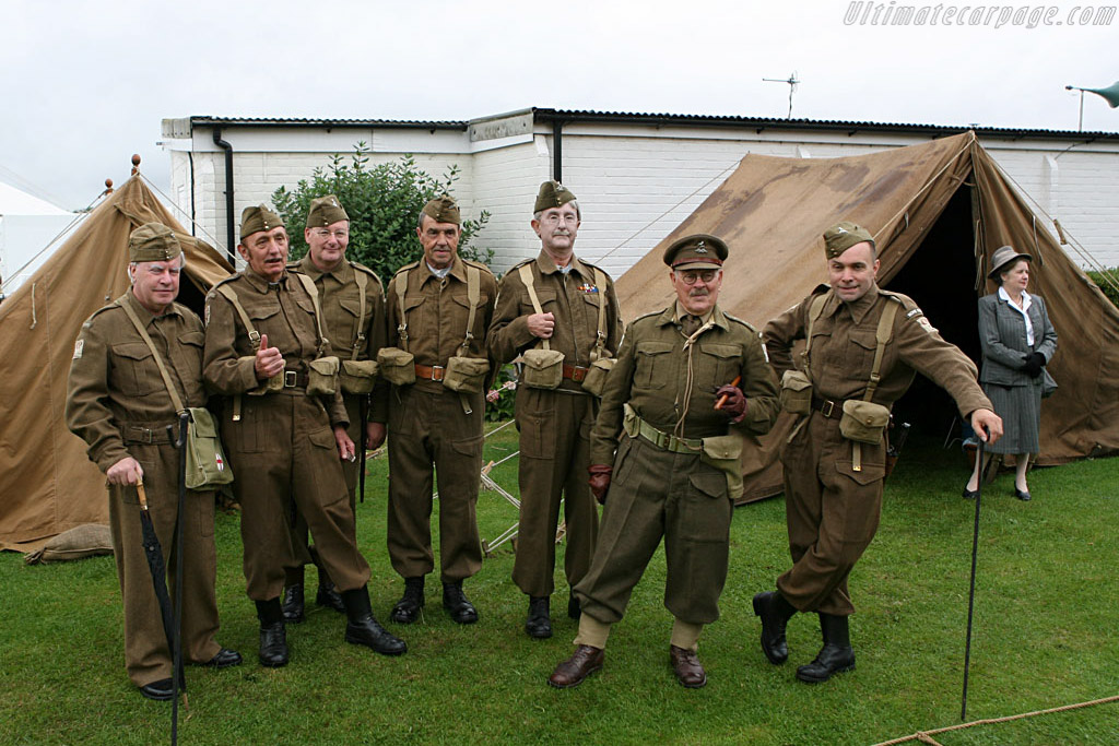 Dad's army    - 2006 Goodwood Revival