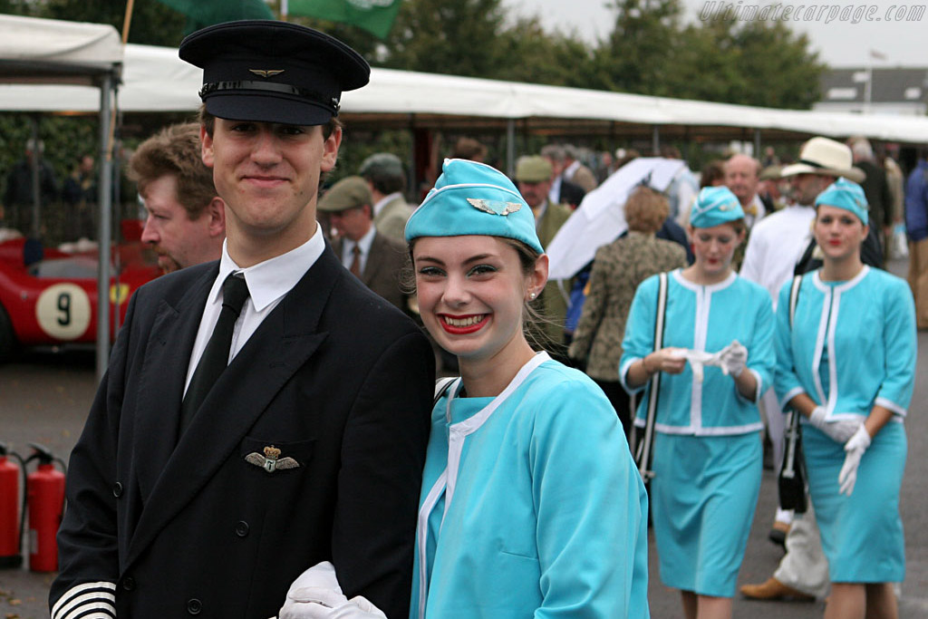 Didn't we all want to be pilot ?    - 2006 Goodwood Revival