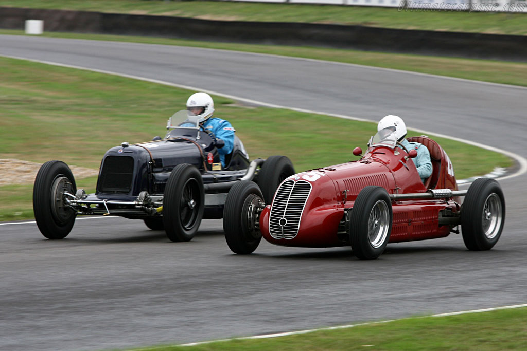 maserati 4cl chassis 1564 driver mark gillies 2006 goodwood revival. Black Bedroom Furniture Sets. Home Design Ideas