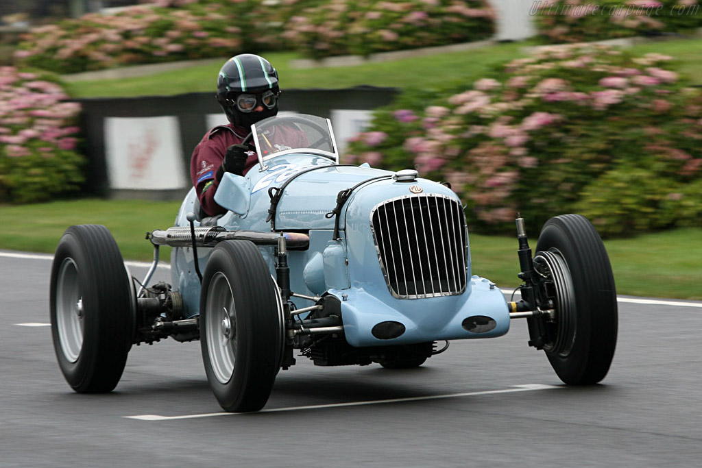 Race Car Trophy >> Parnell-MG Special - 2006 Goodwood Revival