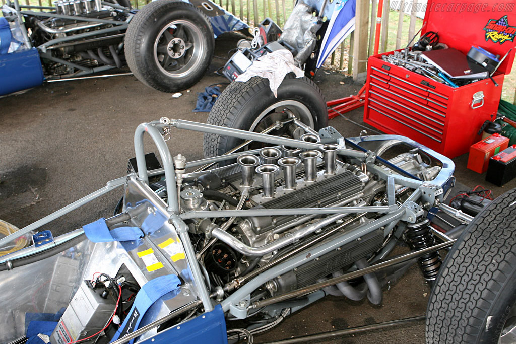 Scirocco BRMs - Chassis: SP-2-63   - 2006 Goodwood Revival