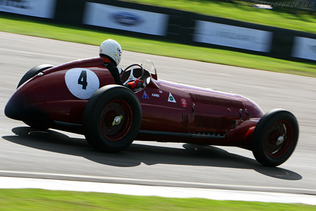 Alfa Romeo 12C 37 - Chassis: 51204   - 2007 Goodwood Revival