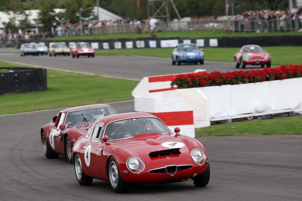 Alfa Romeo TZ1    - 2007 Goodwood Revival