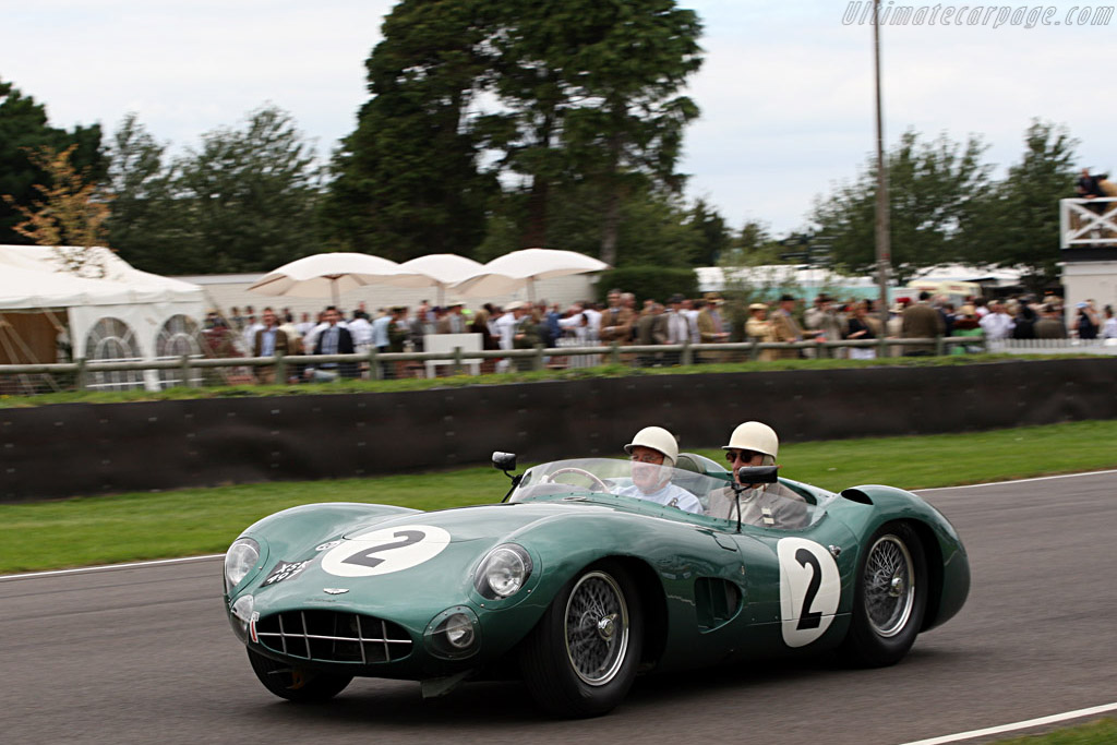 Aston Martin DBR1 - Chassis: DBR1/2 - Entrant: Harry Leventis - Driver: Stirling Moss  - 2007 Goodwood Revival