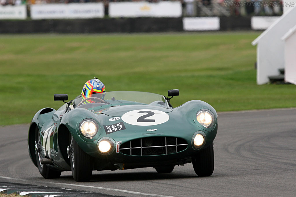 Aston Martin DBR1 - Chassis: DBR1/2 - Entrant: Harry Leventis - Driver: Peter Hardman  - 2007 Goodwood Revival