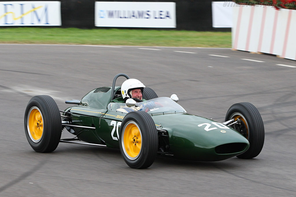 Frank Sytner also enjoyed himself    - 2007 Goodwood Revival