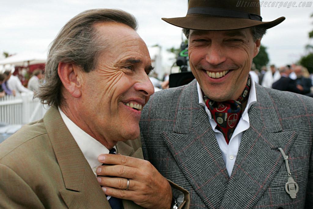 Jackie Ickx and the Earl of March    - 2007 Goodwood Revival