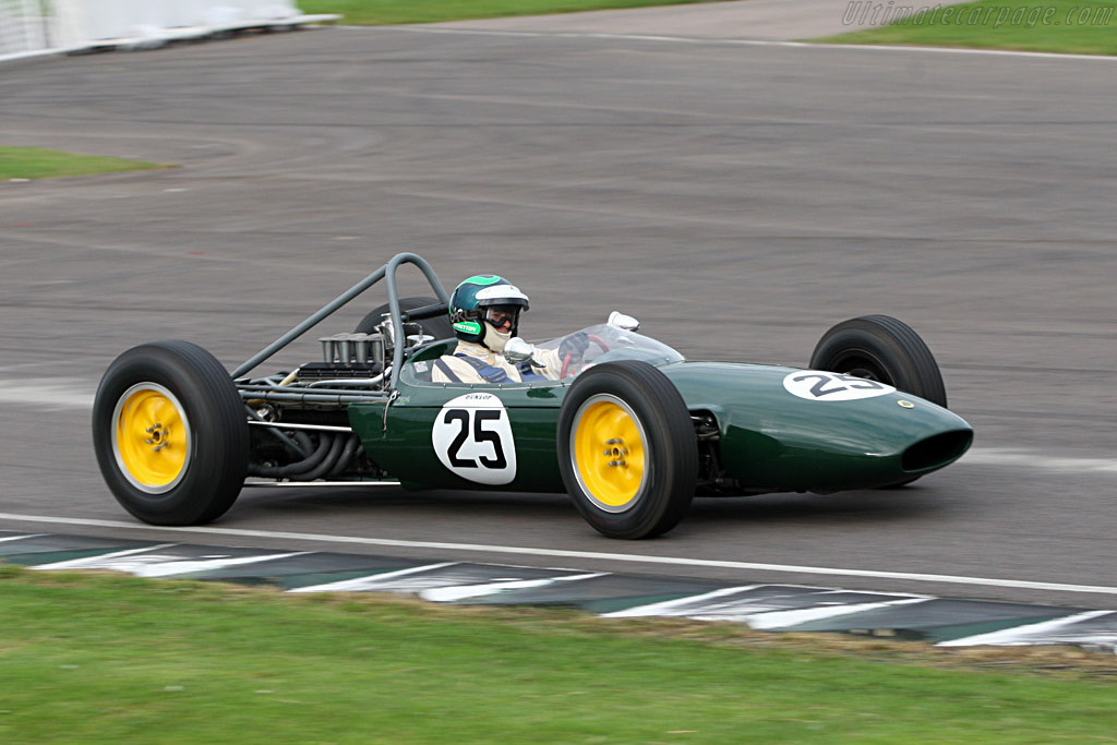 Race Car Trophy >> Lotus 24 BRM - 2007 Goodwood Revival